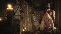 Emilia Clarke- SloMo Game Of Thrones Plot