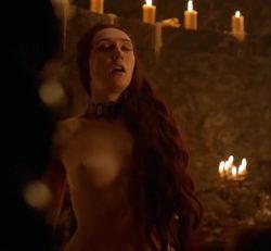 Carice Van Houten and her crucial Game Of Thrones plot