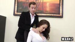 McKenzie Lee – Huge Titty Cougar Boss McKenzie Lee Cums Hard