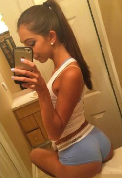Great ass on the sink