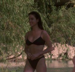Jennifer Connelly bikini plot from The Hot Spot