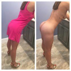 My pink dress on/of(f) ????