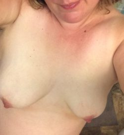 My wife's amazing tits and perky nipples