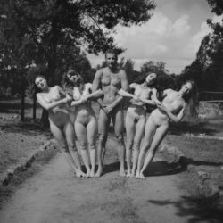 Old School Cool 4 naked girls