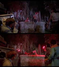 Linnea Quigley's Cemetery Plot - Return of the Living Dead (1985)