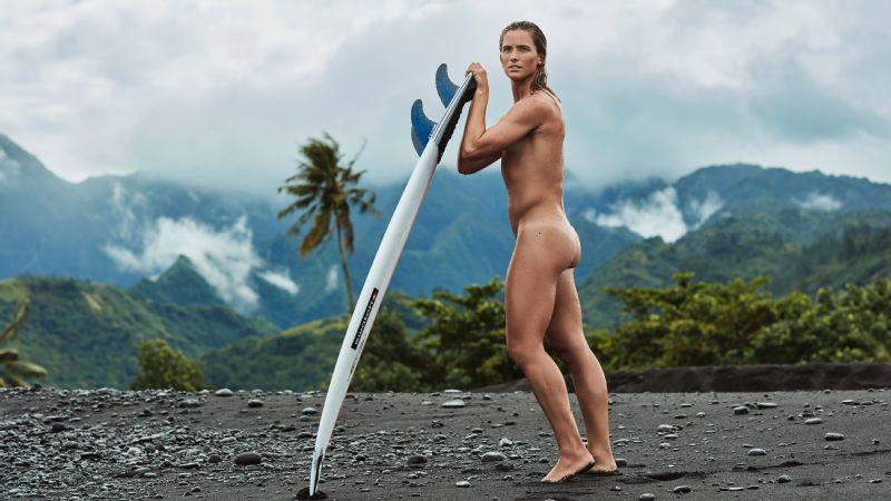 Pro surfer Courtney Conlogue