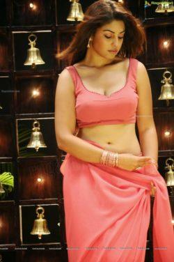 Richa Gangopadhyay - pink saree [PIC]