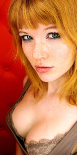 Sexily freckled