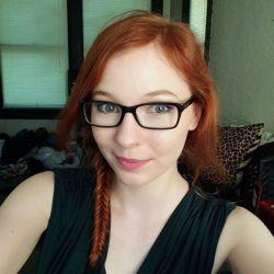 Sexy redhead selfie.