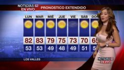 Gisselle Bravo- Weather plot from Noticias 62