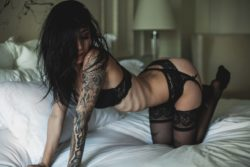 Tattoos and Stockings