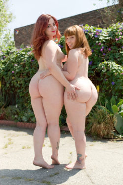 Thick Pawg Redheads