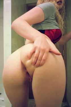 You guys seem to like these behind shots. [F]