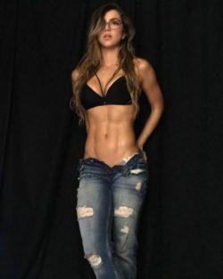 fit girl jeans model