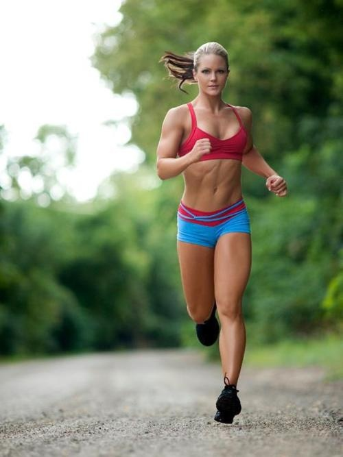 sexy run girl