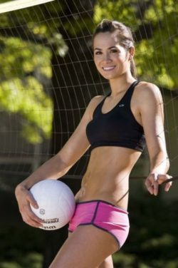 sexy volley ball girl