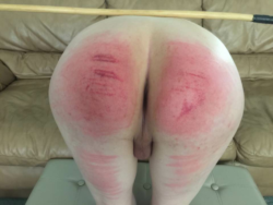 A fun little caning session.