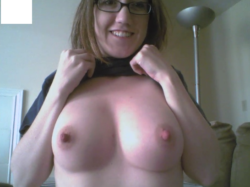 A little peek at them on cam chat
