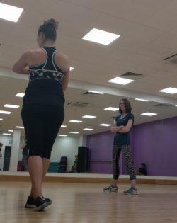 Aerobic girls