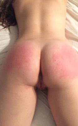 After a good spanking...pm's and comments welcomed