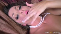 Abigail Mac fucked with cum on her face