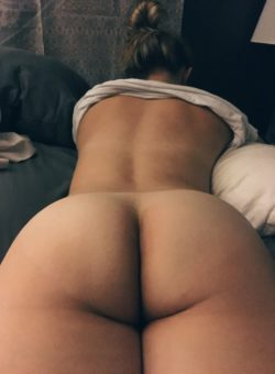 Bun from behind. [f]