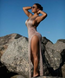 Dolly Castro wears that dress to perfection