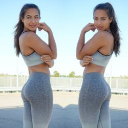 Dutch fitness model Nochtli Peralta Alvarez