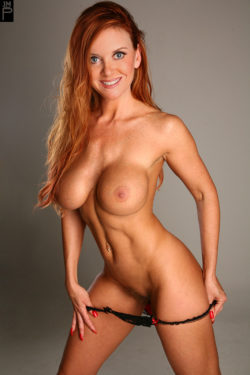 Fit redhead milf