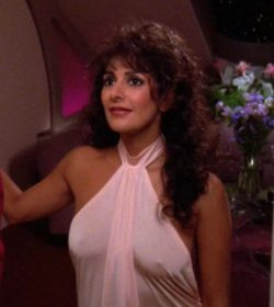 Marina Sirtis had great character development and a creative plot in Star Trek: The Next Generation