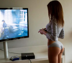 Gotta love girls who game