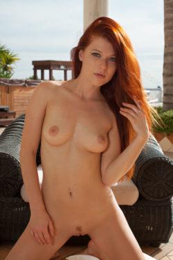 Hot Redhead Mia Sollis