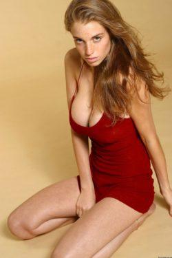 Israeli model Amit Freidman