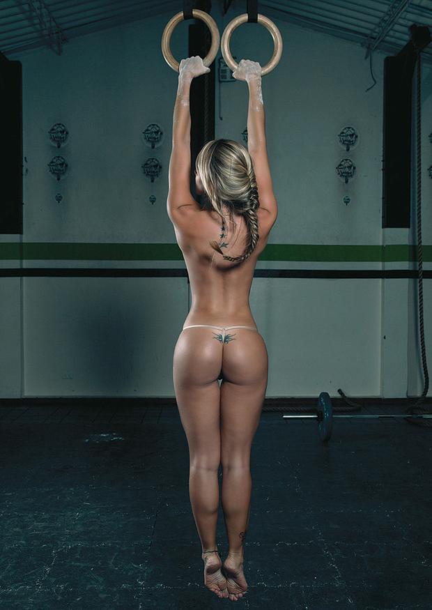 фото голых девушек спортивных