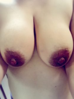 Liked the way my boobs looked this morning. What about you?