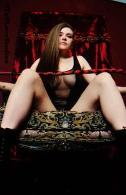 Mistress on her throne