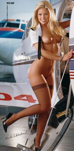 Nicole Whitehead's Playboy Centerfold
