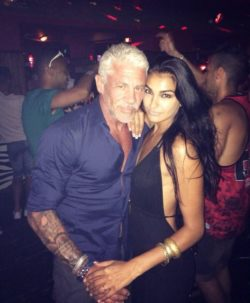 [PIC] British Indian w/ her 30 yrs older sugar daddy