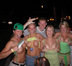 St. Patricks day flash