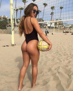 Summer Ray likes volleyball
