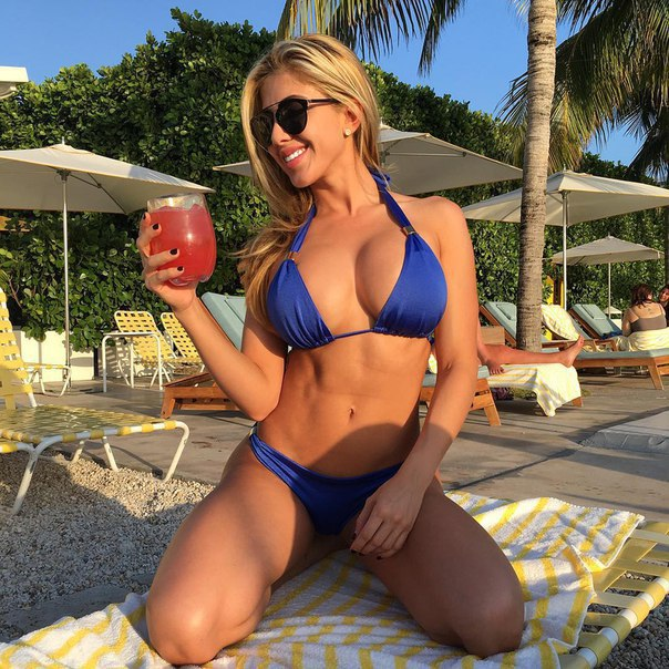 Tasty summer cocktail (from /r/JustFitnessGirls)