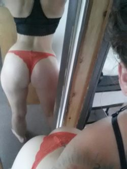 Tell my wife how nice her ass is - she won't listen to me