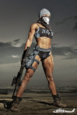The only thing sexier than a fit girl is a fit girl that can kill you.