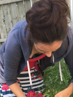 Wife Gardening