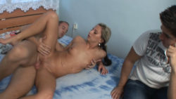 Mature cock in younger pussy