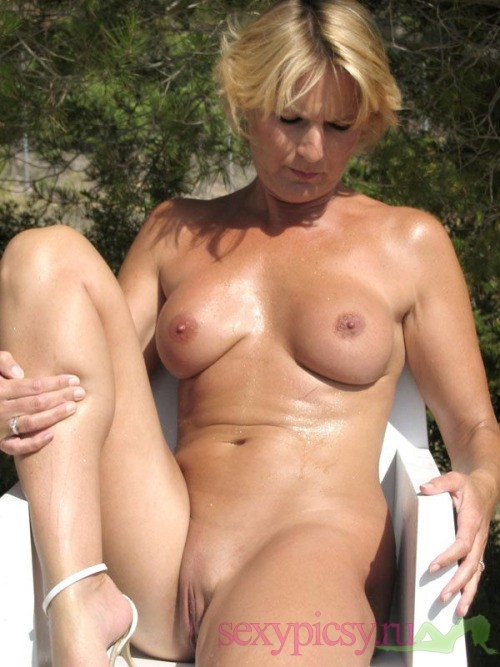 tanned woman