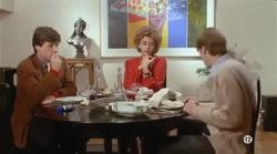 """Corrinne Touzet teasing plot in """"L'amour propre ne le reste jamais très longtemps"""" (1985)"""