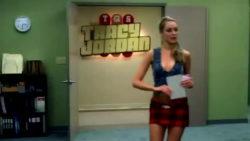 Katrina Bowden slutty clothing on 30 Rock