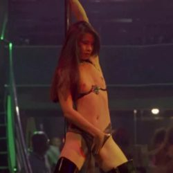 Lucy Liu topless stripper plot in City of Industry