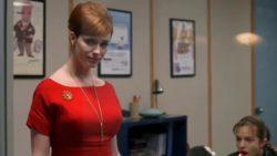 Christina Hendricks back plot in Mad Men